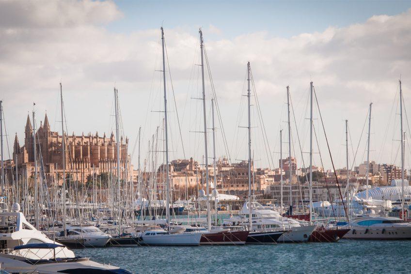 Palma de Mallorca: Startort von Flug X3 2715 am 22.9.2017