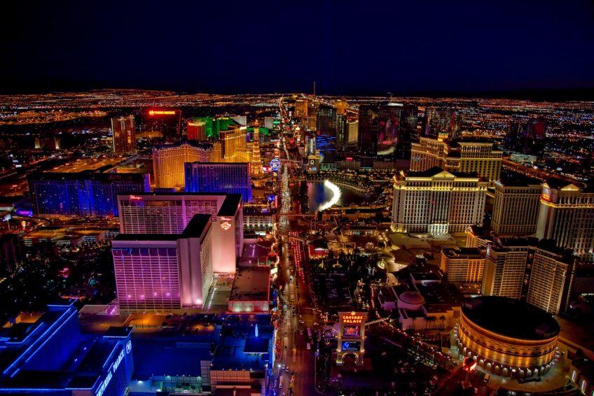 Las Vegas als Abflugsort von EW201 am 3.5.2018