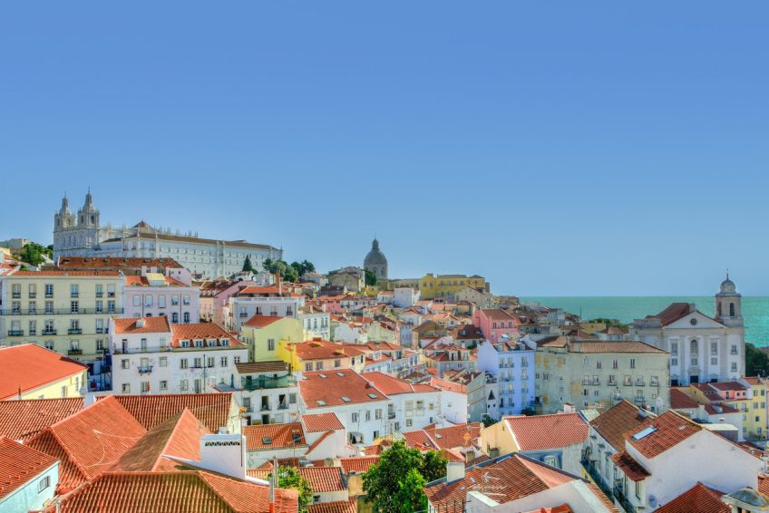 Startort Lissabon von Flug TP1274 am 3.11.2017