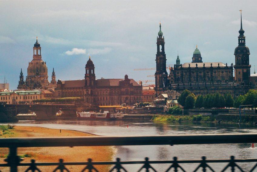 Dresden: Abflugsort von EW23 am 12.7.2018